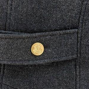 J. Crew Jackets & Coats - J crew stadium cloth double breasted coat size 0